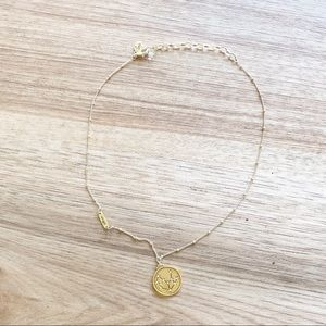 Sequin | Virgo Celestial Gold Plated Necklace